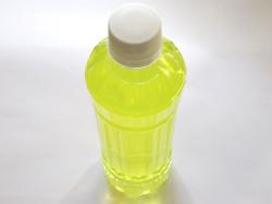 トップアスリートが入ったペットボトル